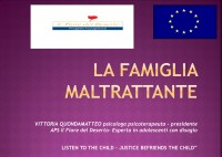 Working with families who commit violence: experience from Italy