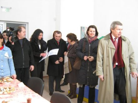 The American Ambassador James Warlick Visited the CSSCF - Vidin
